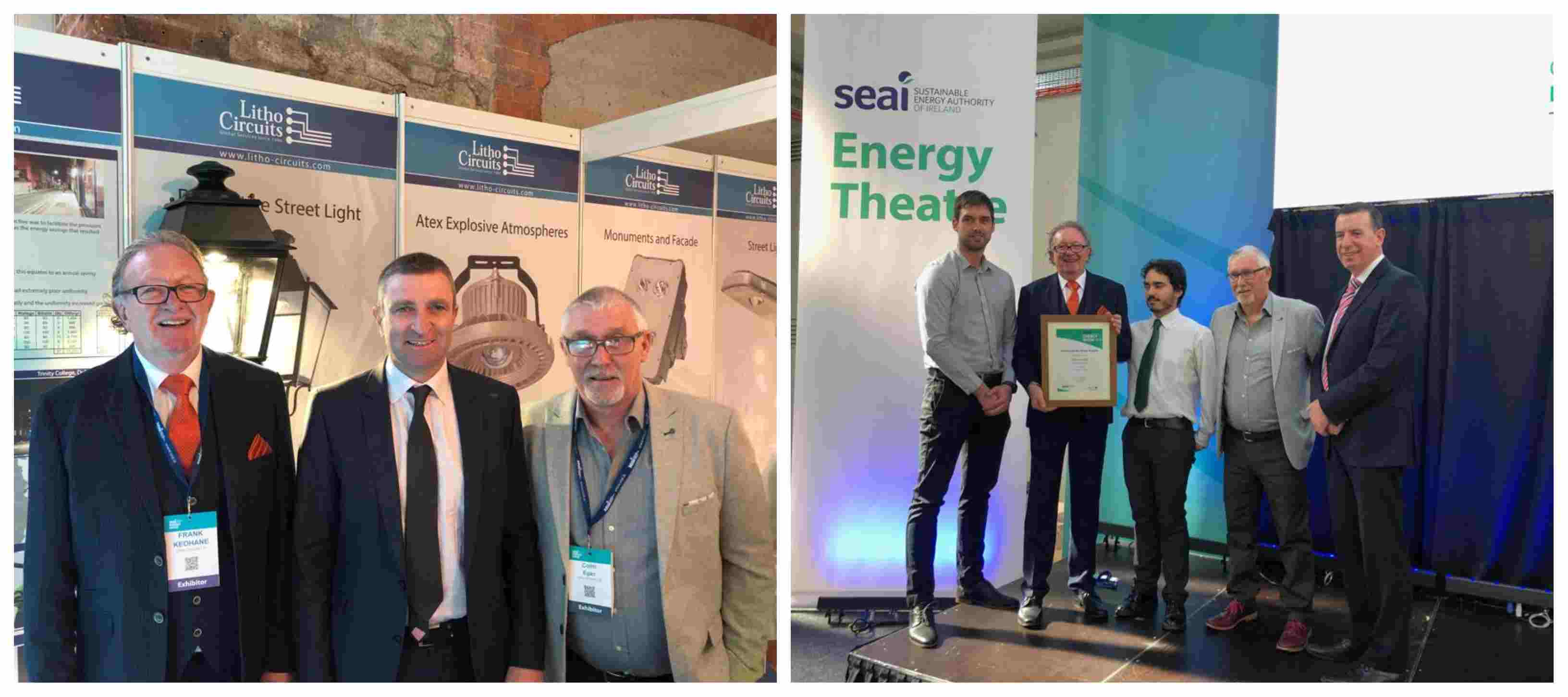 Winner at the SEAI Energy Show for 3rd Year in a Row litho circuits