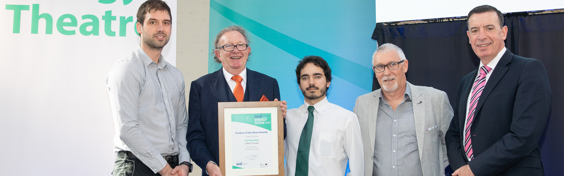 WINNER OF SUSTAINABLE ENERGY AUTHORITY IRELAND (SEAI) LIGHTING AWARD 2017 + 2018+ 2019 COMMENDATION