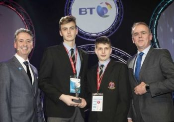 Danila Fedotov and Filip Caric Runners Up at Young Scientist Exhibition